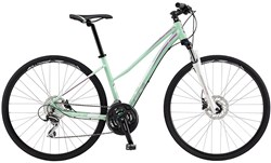 Image of GT Transeo 3.0 Step Thru Womens 2017 Hybrid Bike