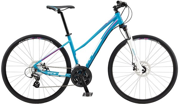 Image of GT Transeo 4.0 Step Thru Womens 2017 Hybrid Bike