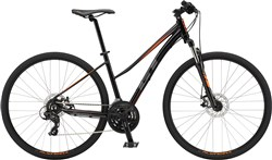 Image of GT Transeo Comp Step-Thru Womens 2018 Hybrid Bike