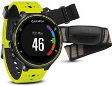 Image of Garmin Forerunner 230 GPS Fitness Watch With Premium Soft-Strap HRM