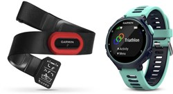 Image of Garmin Forerunner 735XT Run Bundle Fitness Watch