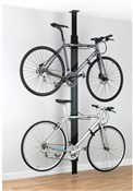 Image of Gear Up BUA Aluminium Floor-to-Ceiling 2 To 4-bike Rack