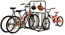 Image of Gear Up Six-On-The-Floor 6-bike Holder With Accessory Bar