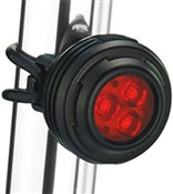 Image of Gemini Iris USB Rechargeable Rear Light - 200 Lumens