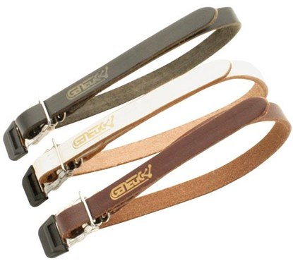 Image of Genetic Single Toe Clip Leather Straps