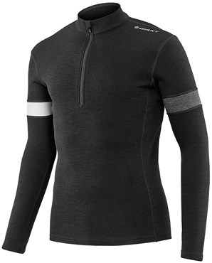 Image of Giant Col Merino Long Sleeve Cycling Jersey