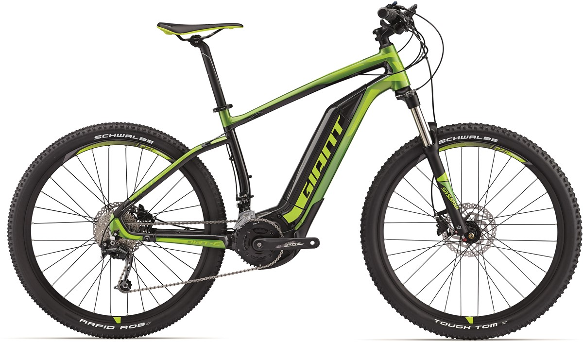 "Giant Dirt-E+ 2 27.5"" 2017 Electric Mountain Bike"