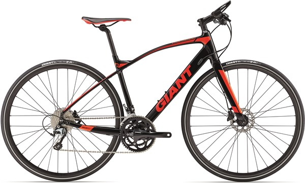 Image of Giant Fastroad SLR 2017 Flat Bar Road Bike