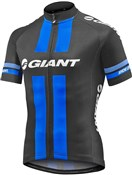 Image of Giant Race Day Short Sleeve Full Zip Cycling Jersey