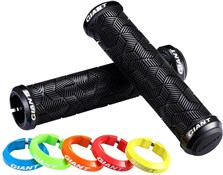 Image of Giant Tactal Double Lock-On Mountain Bike Grips