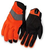 Image of Giro Ambient Soft Shell Cycling Long Finger Gloves SS16