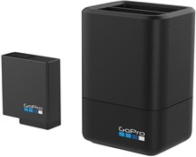 Image of GoPro Dual Battery Charger + Battery - For Hero 5 Black