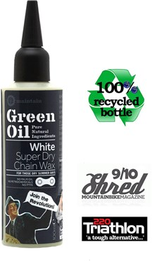 Image of Green Oil White Super Dry Chain Wax - 100ml