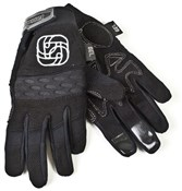 Image of Gusset I.F. Stealth Long Finger Cycling Gloves