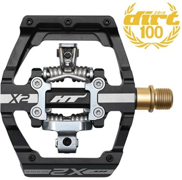 Image of HT Components X2T MTB Pedals With Titanium Axles