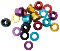 Image of Halo A-Nuts Alloy Nut and Washer Set