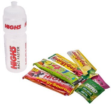 Image of High5 750ml Drinks Bottle with Promo Gels