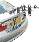 Image of Hollywood Baja Over Spoiler Mount 3 Bike Car Rack - 3 Bikes