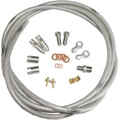 Image of Hope S.S.Braided Hose Kit (inc. Conn)