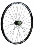 "Image of Hope Tech DH - Pro 4 26"" Rear Wheel - Black - 32H"