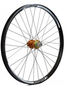 "Image of Hope Tech DH - Pro 4 26"" Rear Wheel - Orange - 32H"