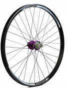 "Image of Hope Tech DH - Pro 4 26"" Rear Wheel - Purple - 32H"