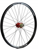 "Image of Hope Tech DH - Pro 4 26"" Rear Wheel - Red - 32H"