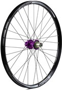 "Image of Hope Tech DH - Pro 4 27.5"" Rear Wheel - Purple - 32H"