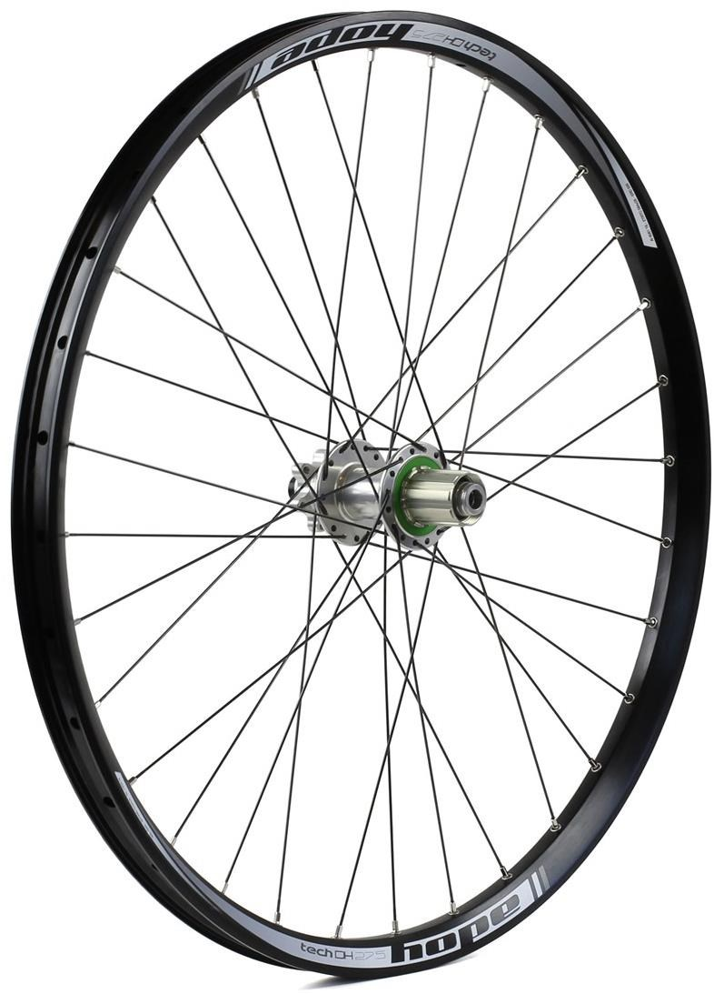 "Hope Tech DH - Pro 4 27.5"" Rear Wheel - Silver - 32H"