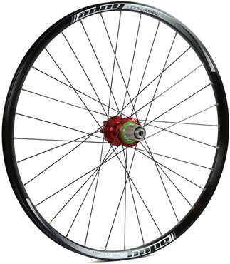 "Image of Hope Tech Enduro - Pro 4 26"" Rear Wheel - Red"
