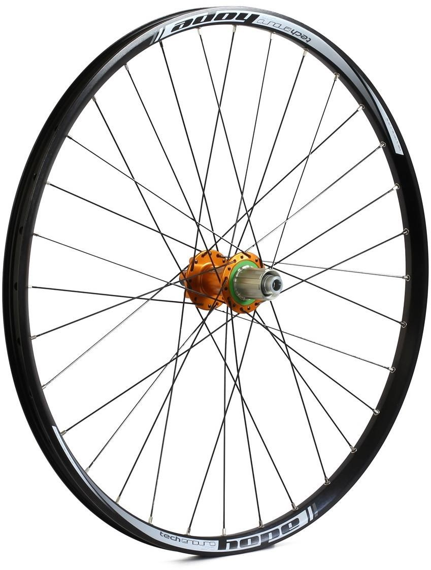 Hope Tech Enduro - Pro 4 27.5 / 650B Rear Wheel - Orange