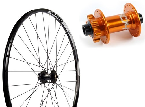 "Image of Hope Tech XC SP24 S-Pull - Pro 4 Straight-Pull 26"" Front Wheel - 24 Hole"