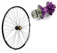 "Image of Hope Tech XC SP24 S-Pull - Pro 4 Straight-Pull 26"" Rear Wheel - 24 Hole"