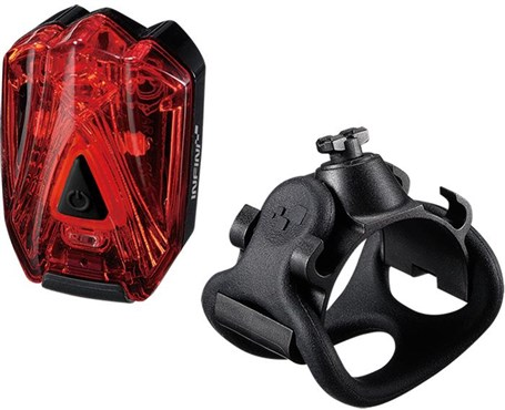 Image of Infini Lava Super Bright Micro USB Rechargeable Rear Light With QR Bracket