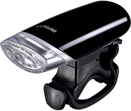 Image of Infini Luxo 3 LED Front Light With Batteries and Bracket