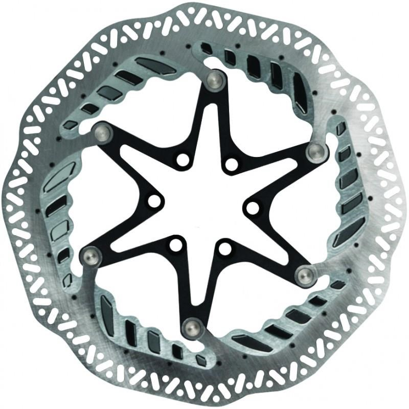 Jagwire Elite CR-1 Vented Disc Brake Rotor - 6 Bolt
