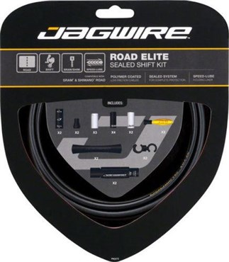Image of Jagwire Road Elite Sealed Gear Kit