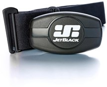 Image of JetBlack Heart Rate Monitor - Dual Band Technology (Bluetooth / ANT +) - Soft Strap