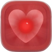 Image of Knog Blinder 1 LED Heart USB Rechargeable Rear Light