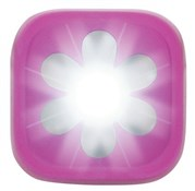 Image of Knog Blinder 1 LED Pink Flower USB Rechargeable Front Light
