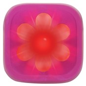 Image of Knog Blinder 1 LED Pink Flower USB Rechargeable Rear Light