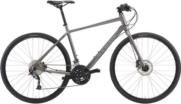 Image of Kona Dew Deluxe 2016 Hybrid Bike