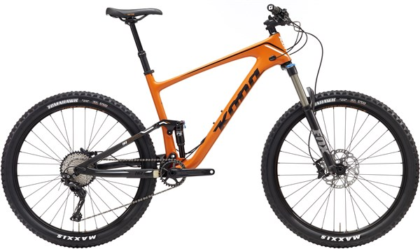Image of Kona Hei Hei Trail Carbon 27.5 2017 Mountain Bike