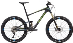 Image of Kona Hei Hei Trail Deluxe Carbon 27.5 2017 Mountain Bike