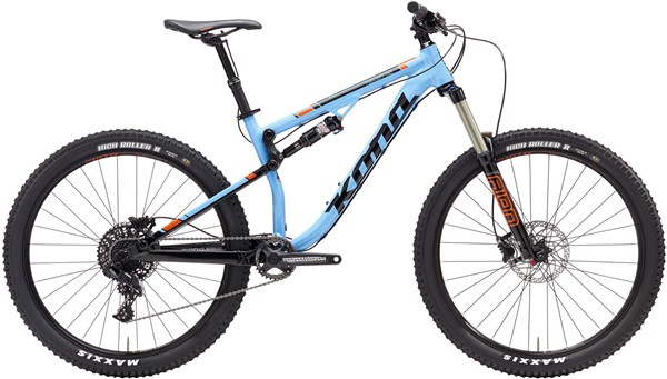 Image of Kona Precept 150 27.5 2017 Mountain Bike