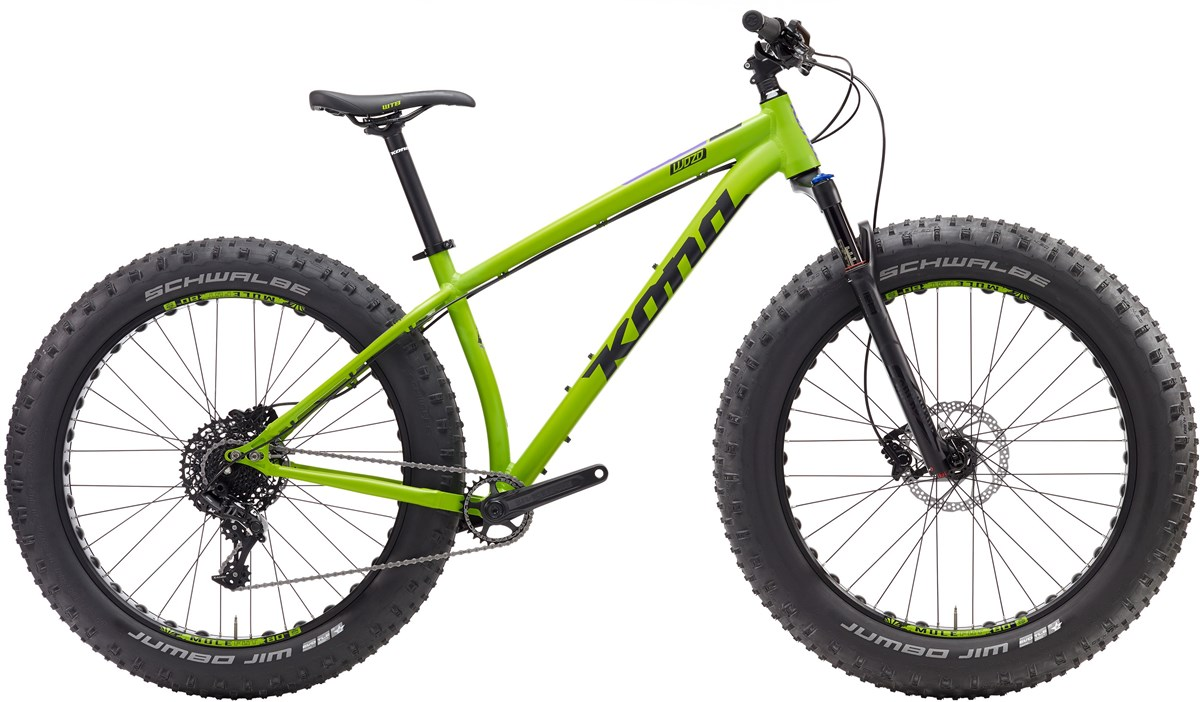 Kona WoZo 26w 2017 Fat Bike - Mountain Bike