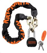 Image of Kryptonite Messenger Chain & Molly Padlock - 100cm