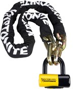 Image of Kryptonite New York Fahgettaboudit Chain and Padlock