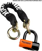 Image of Kryptonite New York Noose 130cm Chain Lock With EV Series 4 Disc Lock