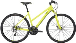 Image of Lapierre Cross 200 Disc Womens  2017 Hybrid Bike